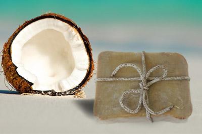 χειροποίητο σαπούνι – Ινδική καρύδα